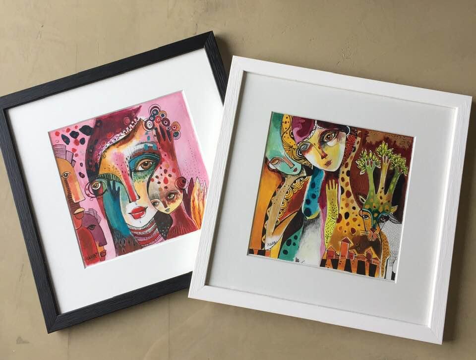 Retrouvez mes oeuvres à la vente sur l'espace boutique